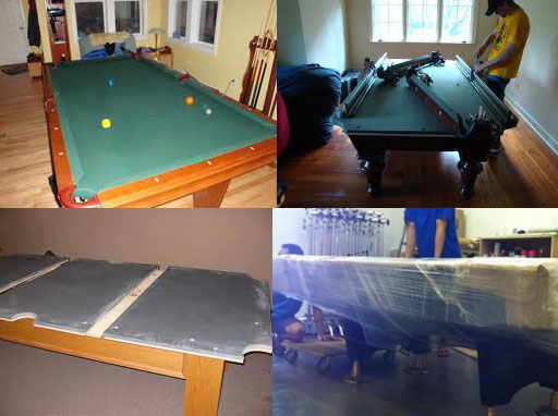 STANDARD PRICE MOVING COMPANY The Los Angeles Pool Table Movers - What does it cost to move a pool table